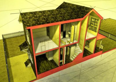 Orange House Section