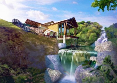 Mountain Villa Rendering
