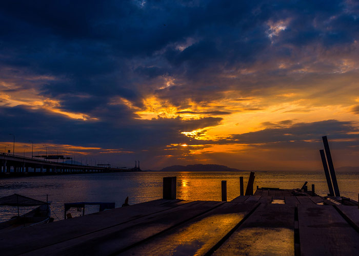 Sunrise in the Island of Penang_2