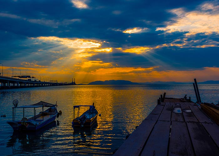 Sunrise in the Island of Penang_3