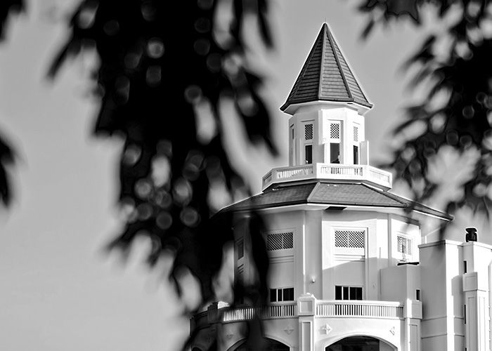 Black & White Photography : A tower